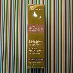 Yves Rocher Exceptional Serum Botanical Therapy Hair Care Women 1 fl oz 30 ml