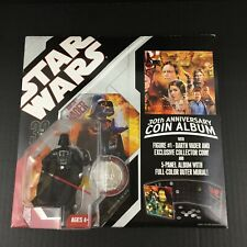 Star Wars 30th Anniversary Coin Album w/ Darth Vader Action Figure NEW SEALED