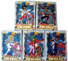 Saint Seiya Model Kit Bandai Set of 5 Bronze V2 Vintage Maqueta Used Not myth Ex