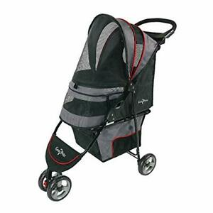 Gen7 Regal Plus Pet Stroller for Dogs and Cats – Lightweight Compact and Port...