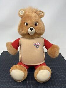 Playskool TEDDY RUXPIN 2810 Talking 1992 Teddy Ruxpin BEAR *Not Working*