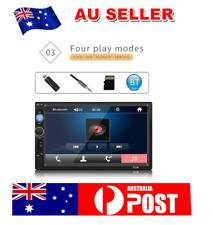 "7""HD GPS Bluetooh Car MP5 Player Navigation reverse 2 DIN Radio Connected Camera"