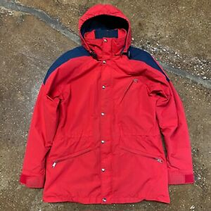 VTG The North Face Full Zip Extreme Gore-Tex Jacket Made in USA Red sz M