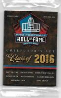 Panini NFL Pro Football Hall of Fame Class of 2016 Collector Set - Favre & More!
