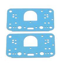 Holley 108-121 2 Pack Metering Block Carburetor Gasket Carb Blue Non-stick