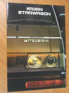 c1995 Mitsubishi Starwagon original Australian 12 page brochure