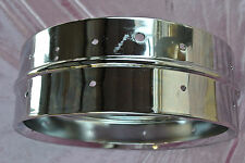 LATE 1970's LUDWIG SUPRAPHONIC-400 5X14 CHROME SNARE SHELL for DRUM SET! #T184