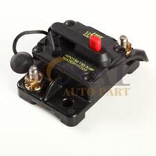 150 Amp Manual Reset Circuit Breaker 12v Car Auto Boat Audio Fuse Waterproof