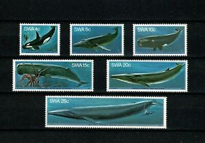 U0261 SOUTH WEST AFRICA 1980 Whales  MNH