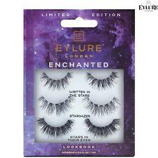 Eylure Enchanted BUNDLE Pack False Eyelashes Reusable lashes and Latex Free Glue