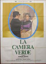 MANIFESTO, LA CAMERA VERDE La chambre verte di HENRY JAMES, TRUFFAUT, AFFICHE 4F