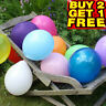 "10 x 10"" Inch High Quality Plain BALLOONS Helium/Air Birthday Party Decoration"