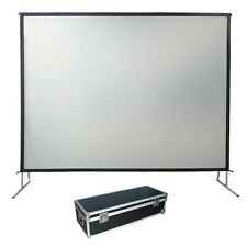 "150"" Fast Fold Projection Screen Front & Rear 16 9 Forest AV Fixed/framed"