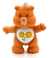 Vintage 1983 Care Bears Poseable Figure FRIEND BEAR Flowers by Kenner