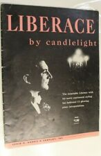 Liberace By Candlelight Vintage Sheet Music Book 1953