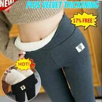 SUPER THICK CASHMERE LEGGINGS Winter Tight High Waist Pants Warm Pants Hot