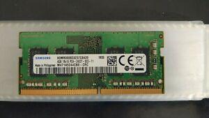 Mémoire 4GB Samsung DDR4 PC4-2400T SO-DIMM M471A5244CB0-CRC