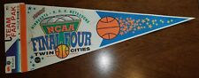 Vintage 1992 NCAA Final Four Basketball Duke Blue Devils Pennant Twin Cities