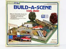 "Life-Like Ho U/A ""Build-A-Scene Coal Yard"" Plastic Model Kit"