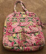 Vera Bradley Tall Zip Tote in Pinwheel Pink - Bag - Purse - Luggage - Craft Case