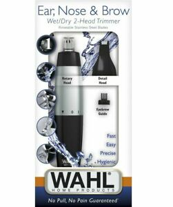 Wahl 55602101 Nose Ear Trimmer Eyebrow Neck Hair Groomer Micro Personal Shaver