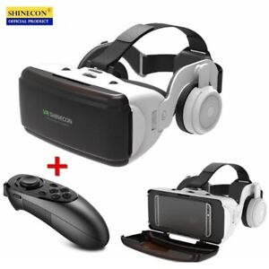 Original VR Virtual Reality 3D Glasses Box Stereo Google Headset IOS Android