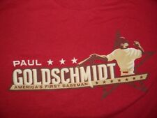 men's medium ARIZONA DIAMONDBACKS red t shirt PAUL GOLDSCHMIDT SGA giveaway