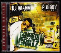DJ DRAMA, P DIDDY - GANGSTA GRILLZ XII 12 BOYZ N DA HOOD - CD ALBUM - NEW SEALED