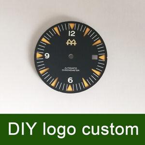 31.03mm Black/blue Watch Dial DIY custom fit 8205/8215 ETA 2836/2824 DG2813