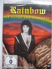 Rainbow: Up Close & Personal Worlds Greatest Artists (DVD) NEW SEALED PAL