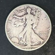 1920-D Walking Liberty Half - High Quality Scans #F120