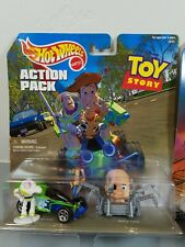Hot Wheels Action Pack Toy Story new in package! Rare treasure