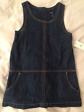 Girl's GAP Denim Dress and Knickers Set Age 2 years old BNWT