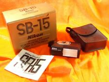 NIKON SB-15 SPEEDLIGHT NO.523176