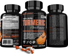 Turmeric Best High Potency Organic Turmeric Curcumin Root Powder w/ BioPerine
