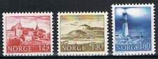 Noorwegen postfris 1977 MNH 739-741 - Gebouwen Vuurtoren / Lighthouse