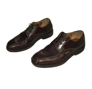 Mephisto Goodyear Zébrure Décontracté Marron Cuir Oxford Chaussures Lacet 'S 8