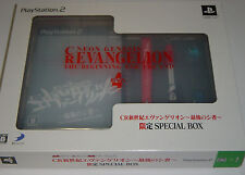 """Sony PlayStation 2 """"CR Neon Genesis Evangelion"""" Limited Special Box - JAPAN"""