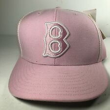 Boston Red Sox Pink Fitted Authentic Cooperstown Collection 7 3/4 Baseball Hat