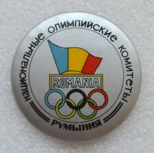 ROMANIA Official Emblem 1984 Summer Olympic Games Los Angeles Olympiad