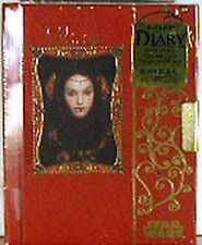 Star Wars Episode 1 Queen Amidala Diary w Key0 Unused!