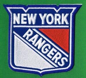 NEW YORK RANGERS NHL EMBROIDERED CREST