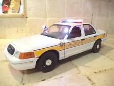 1/18 Illinois State TROOPER Police FCV P71 Ut Lot of Lights & SIREN Diecast Car