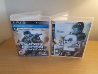 PLAYSTATION 3 - GHOST RECON GAME BUNDLE - ADVANCED WARFIGHTER 2 & FUTURE SOLDIER