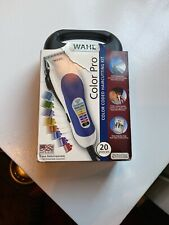 Wahl COLOR CODE PRO 79424-200  Mens Home Hair Cutting Kit Clippers 20pc NEW