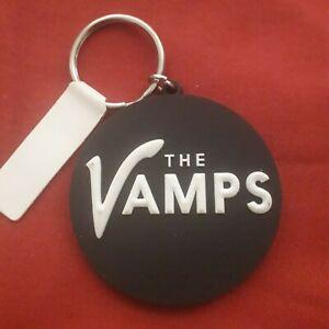 OFFICIAL LICENSED - THE VAMPS LOGO - RUBBER KEYRING - POP ROCK