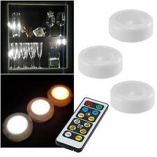 3+1 Dual-Weiß Toccare LED Unterbau-Leuchten Con Remoto Batteria Möbel-lampe