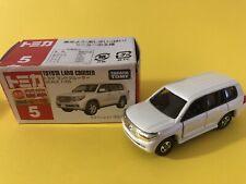 Tomica 5 Toyota Land Cruiser White (VHTF)
