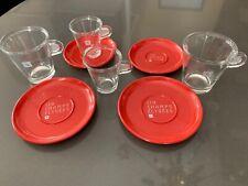 4 Tasses Nespresso originales - 119 Champs Elysées - design CAHEN