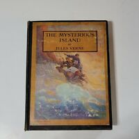 The Mysterious Island Jules Verne NC Wyeth Illustrated 1948 Book Collectible